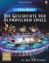 Sticker-Wissen - Die Geschichte der Olympischen Spiele Cover