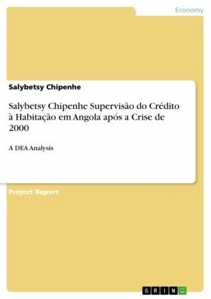 Salybetsy Chipenhe Supervisão do Crédito à Habitação em Angola após a Crise de 2000