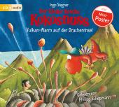 Der kleine Drache Kokosnuss - Vulkan-Alarm auf der Dracheninsel, 1 Audio-CD Cover