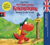 Der kleine Drache Kokosnuss kommt in die Schule, 1 Audio-CD Cover