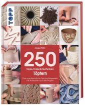 250 Tipps, Tricks & Techniken - Töpfern Cover