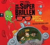 Die drei Superbrillen - Im Labyrinth des Rupert von Raffzahn, 2 Audio-CDs Cover