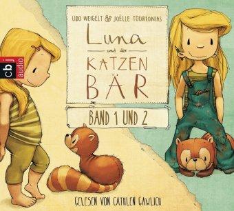 Luna und der Katzenbär Band 1 & 2, 1 Audio-CD