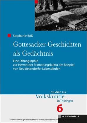 Gottesacker-Geschichten als Gedächtnis