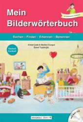 Mein Bilderwörterbuch, Deutsch - Kurdisch, m. Audio-CD Cover