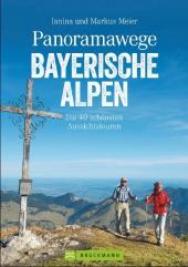 Panoramawege Bayerische Alpen Cover