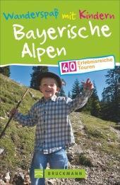 Wanderspaß mit Kindern Bayerische Alpen Cover