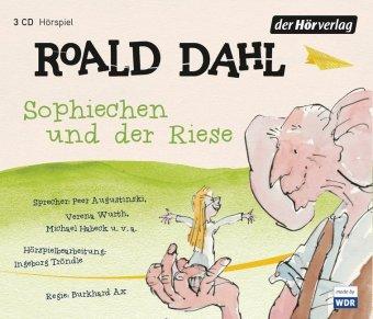 Sophiechen und der Riese, 3 Audio-CDs
