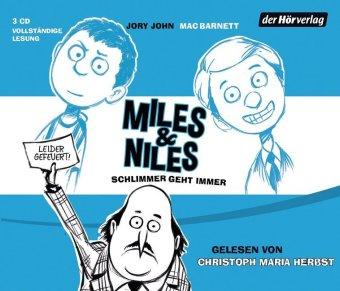 Miles & Niles - Schlimmer geht immer, 3 Audio-CDs