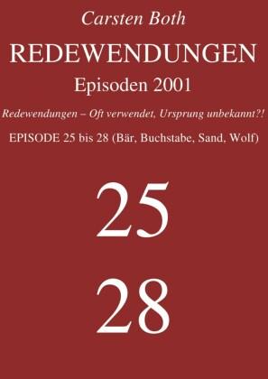 Redewendungen: Episoden 2001