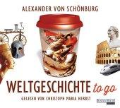 Weltgeschichte to go, 4 Audio-CDs Cover