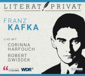 LiteratPrivat - Franz Kafka, 1 Audio-CD Cover