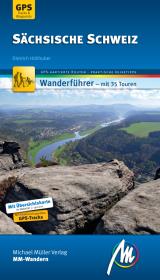 Sächsische Schweiz MM-Wandern Wanderführer Michael Müller Verlag Cover