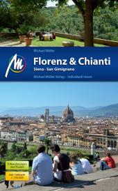 Florenz & Chianti, Siena, San Gimignano, inkl. Faltkarte 1:250.000 Cover