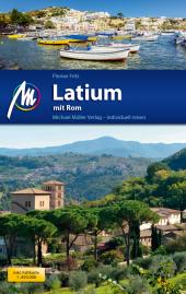 Latium mit Rom, m. 1 Karte