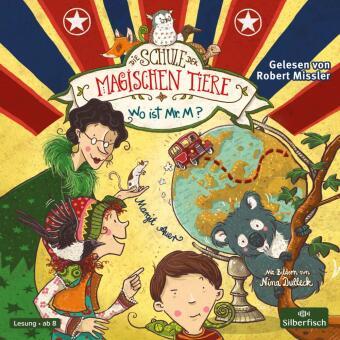 Die Schule der magischen Tiere, Wo ist Mr. M?, 2 Audio-CDs
