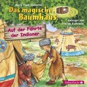 Das magische Baumhaus - Auf der Fährte der Indianer, 1 Audio-CD Cover