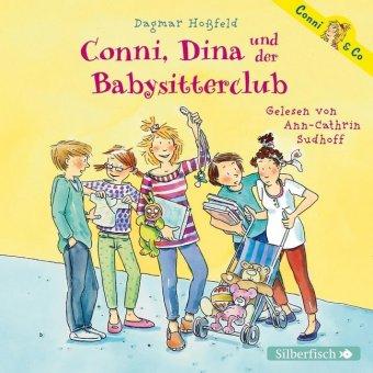Conni, Dina und der Babysitterclub, 2 Audio-CDs