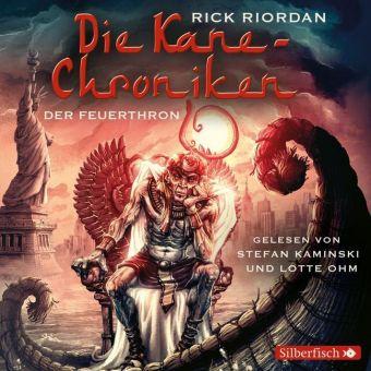 Die Kane-Chroniken - Der Feuerthron, 6 Audio-CDs