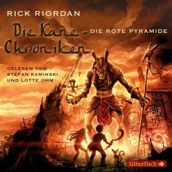 Die Kane-Chroniken - Die rote Pyramide, 6 Audio-CDs