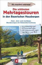 Die schönsten Mehrtagestouren in den Bayerischen Hausbergen Cover