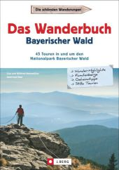 Das Wanderbuch Bayerischer Wald Cover