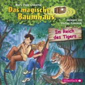 Das magische Baumhaus - Im Reich des Tigers, 1 Audio-CD Cover