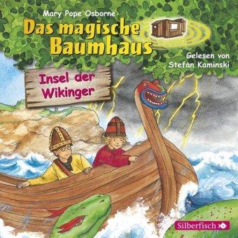 Das magische Baumhaus - Insel der Wikinger, 1 Audio-CD