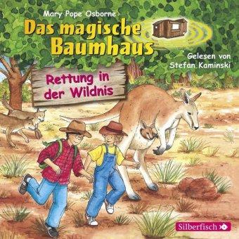 Das magische Baumhaus - Rettung in der Wildnis, 1 Audio-CD