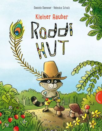 Kleiner Räuber Roddi Hut