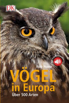 Vögel in Europa, m. Audio-CD
