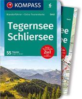 Kompass Wanderführer Tegernsee, Schliersee, m. 1 Karte Cover