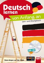 Deutsch lernen - von Anfang an, m. Audio-CD Cover