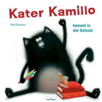 Kater Kamillo kommt in die Schule