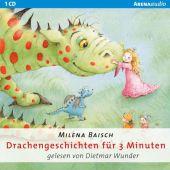 Drachengeschichten für 3 Minuten, 1 Audio-CD Cover