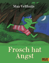 Frosch hat Angst Cover
