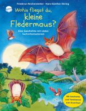 Wohin fliegst du, kleine Fledermaus?, m. Audio-CD Cover