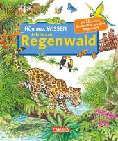 Hör mal Wissen - Erlebe den Regenwald, m. Soundeffekten Cover