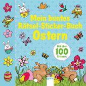 Mein buntes Rätsel-Sticker-Buch Ostern