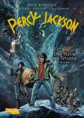 Percy Jackson (Der Comic) - Der Fluch des Titanen Cover