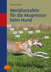 Meridiantafeln für die Akupressur beim Hund Cover