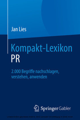 Kompakt-Lexikon PR
