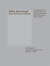 Mein Kampf - Eine kritische Edition, 2 Bde. Cover