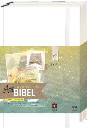 Art Journaling Bibel - NLB Neues Leben Bibel, Altes Testament und Neues Testament, 3 Bde.