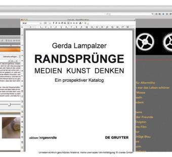 RANDSPRÜNGE - Medien Kunst Denken