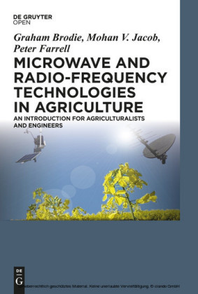 Microwave and Radio-Frequency Technologies in Agriculture
