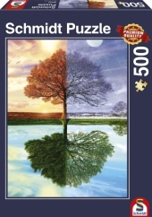 Jahreszeiten-Baum (Puzzle)