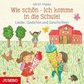 Wie schön - ich komme in die Schule!, Audio-CD Cover