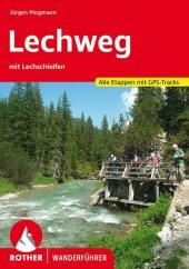 Rother Wanderführer Lechweg mit Lechschleifen Cover