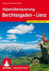 Rother Wanderführer Alpenüberquerung Berchtesgaden - Lienz Cover